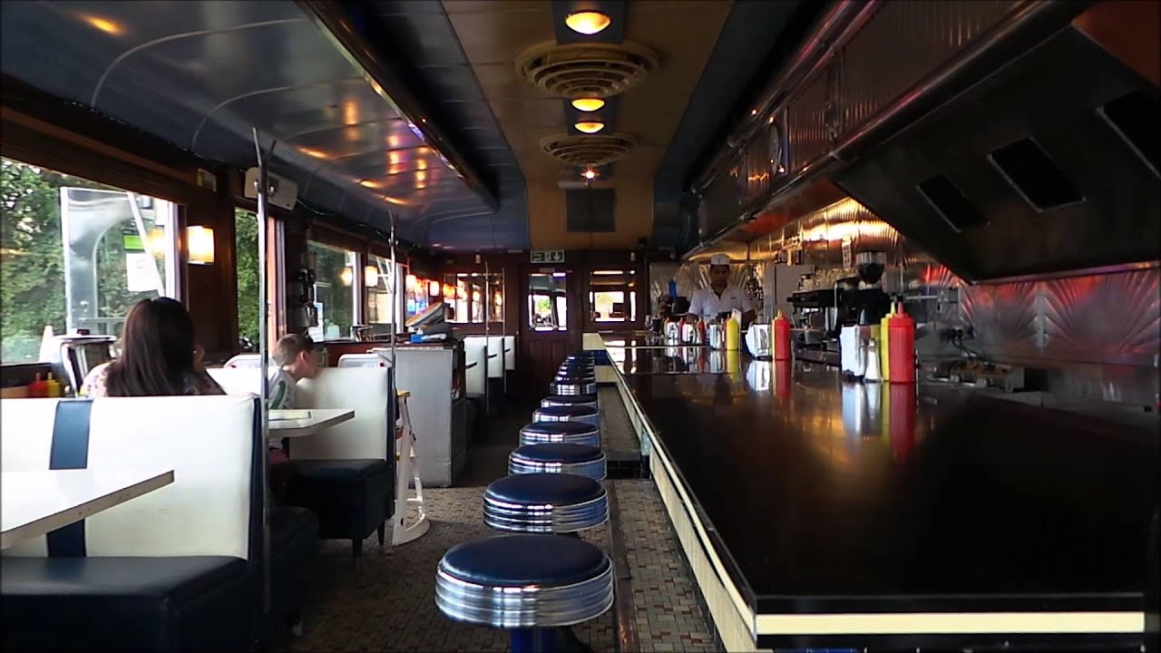 the american restaurant the riverview diner in ashford kent have you been here youtube. Black Bedroom Furniture Sets. Home Design Ideas