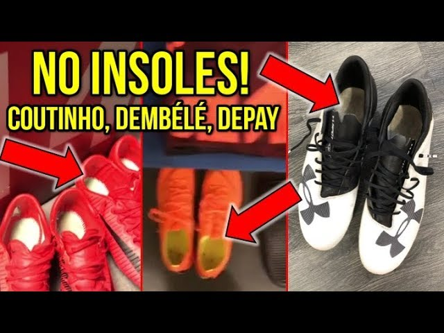 FOOTBALL BOOTS WITHOUT INSOLES