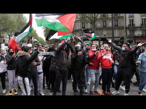 فرنسا: شرطة باريس تفرق -المظاهرة المحظورة- الداعمة للفلسطينيين  - نشر قبل 12 ساعة