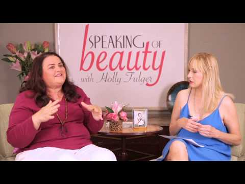 Jacquie Barnbrook ed by Holly Fulger on Speaking of Beauty TV
