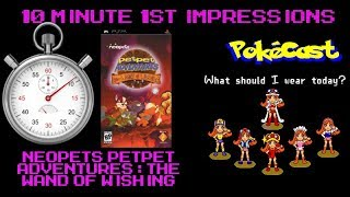 10 Minute 1st Impressions : Neopets Petpet Adventures: The Wand of Wishing
