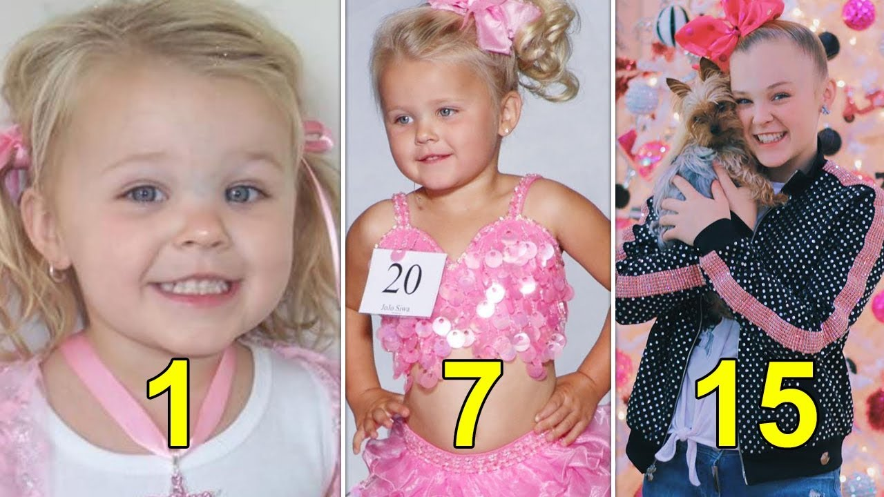 fcd2014719 JoJo Siwa 🎀 Transformation 🎀 From 1 to 15 Years Old - YouTube