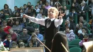 Edward Yudenich (8 years old) conducts Liszt