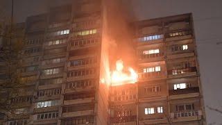 В Москве cгорела квартира в бывшем доме ЦК ВЛКСМ