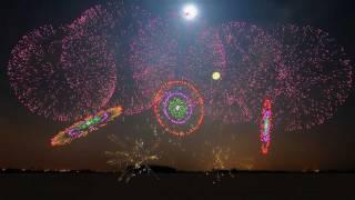 Synchronized Fireworks Show - 3