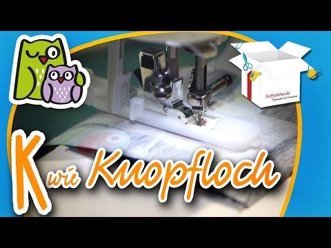 Knopfloch – Knöpfe annähen | Nählexikon A-Z #11 | Nähschule Anleitung Nähen lernen für Anfänger