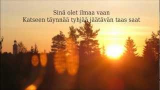 Emma Salokoski - Näkymätön lyrics