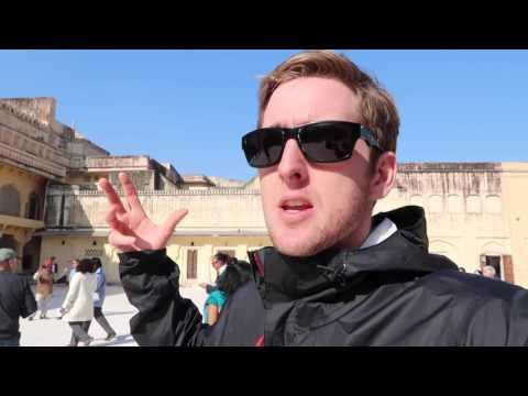 Monkeys, Temples, and Tuk Tuks. Jaipur, India Day 2 | Vlog 8
