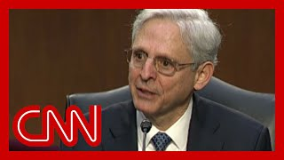Merrick Garland gives emotional response to senator's question
