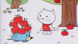 Мультфильмы про котенка - Мусти и его друзья - Ёжик -  Серия 4