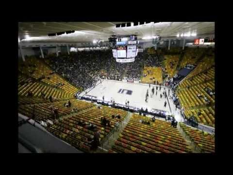 "Utah State University (USU) vs. BYU Basketball 11/11/11 with ""I Believe That We Will Win"" Chant"