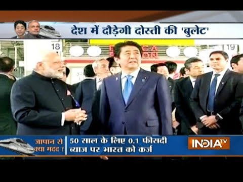 Shinzo Abe to visit Gujarat today, PM Modi's ambitious Bullet train foundation to be laid