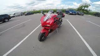 Мотоцикл Ducati 1299 Panigale . Просто красный . Просто 2 000 000 рублей