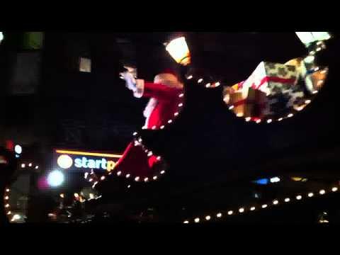 Parade de Noël RTL à Verviers le 11/12/2012