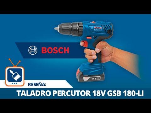 Reseña: Taladro percutor inalámbrico 18 V GSB 180-LI BOSCH