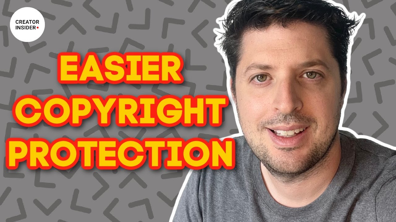 NEW! Easier Copyright Protection for Creators