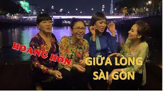 NLDK I Cảnh hoàng hôn ĐẸP MÊ LY giữa lòng Sài Gòn hoa lệ