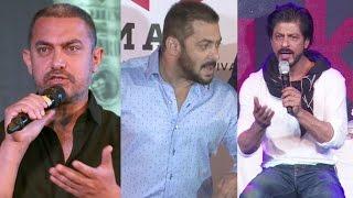 Salman, Shahrukh And Aamir