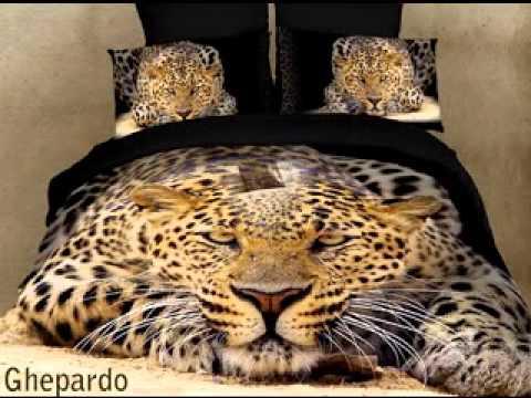 Leopard print bedroom decorating ideas - YouTube