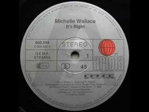 Michelle Wallace - Tee's right (DJ ERIC B EDIT)