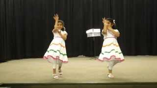 I Love My INDIA -- Performance by Ashwika Gampa & Harshita Narahari @ Clyde Hill Elementary School