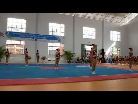 HKPD 2012 - Aerobic - Chung ket tu chon nhom 8 nguoi - Can Tho