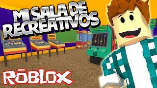MY OWN RECREATIONAL ROOM! Roblox gameplay english - ARCADE TYCOON [KraoESP]