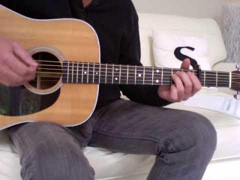 Bruce Springsteen  Downbound Train Guitar Lesson