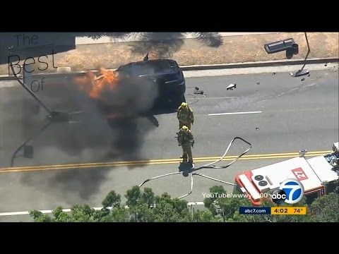 TheBestOf - Police Chase CRASH COMPILATION 2017