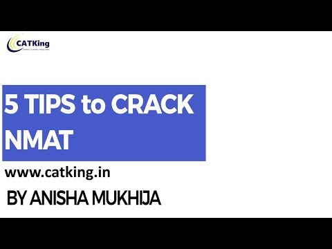 5 Tips to Crack NMAT by NMIMS Alumni ( NMAT 99%iler)