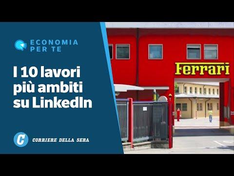 Corriere della Sera: La classifica dei 10 posti di lavoro più ambiti dagli italiani su LinkedIn