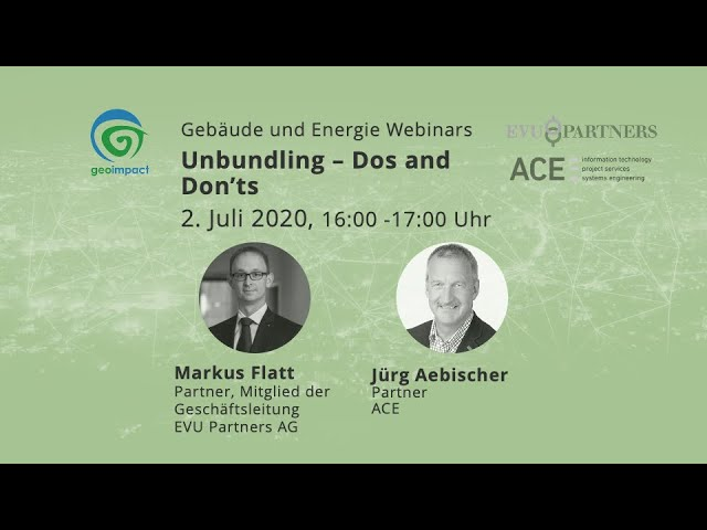 geoimpact & partners Webinare - Review