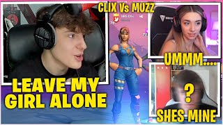 CLIX Calls Out PŔO PLAYER For FLIRTING With His Girlfriend SOMMERSET & 1v1 Him In Solo Cash Cup!
