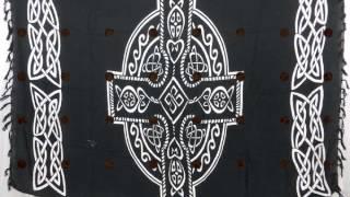 Fuchsia Celtic Sarong Pagan Wall Hangings Wholesalesarong.com