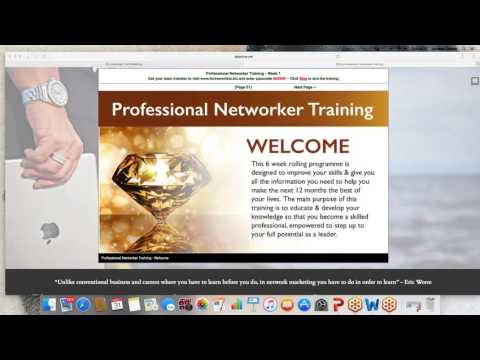 Professional Networker Training Week 11464721556