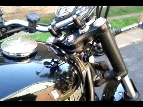 2010 Triumph Bonneville Horn Upgrade 23aug13 Youtube