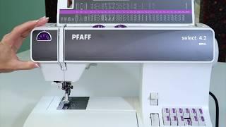 Pfaff Select 4.2  9 Selecting Stitches & Settings