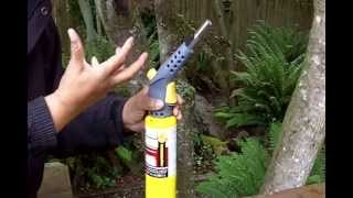 How to Set Up and Operate a MAPP Gas Torch