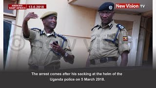 Around East Africa; Kayihura arrested over Kaweesi murder