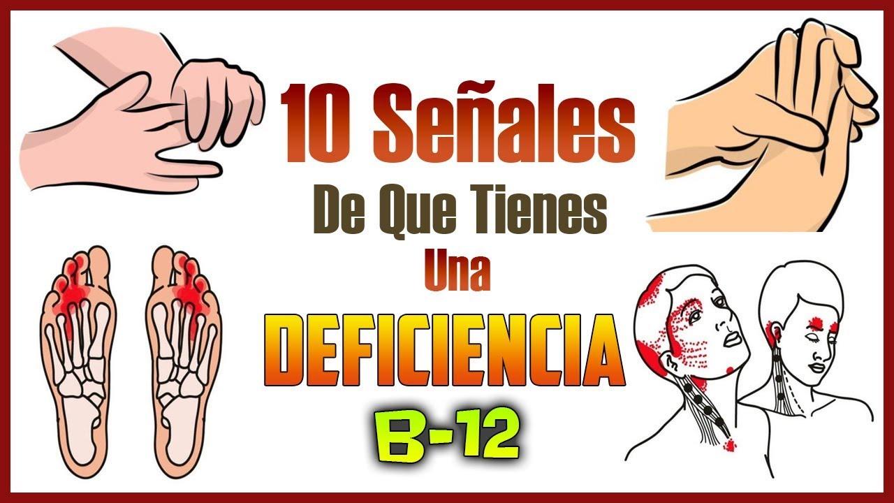 que enfermedades produce la falta de vitamina b12