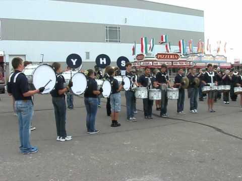 """York High School Band @ NE State Fair 2012 """"Come Sail Away"""""""