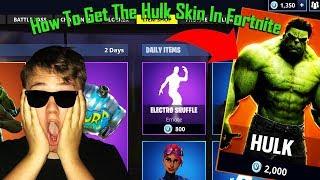 ✘How To Get The Hulk Skin In Fortnite (lyssna i hörlurar)