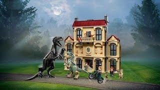 LEGO® Jurassic World 75930 - Нападение индораптора в поместье Локвуд