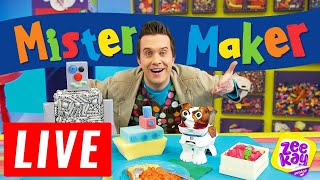 One of Mister Maker's most recent videos: