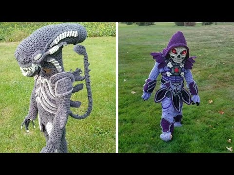 Impressive Crocheted Halloween Costumes thumbnail