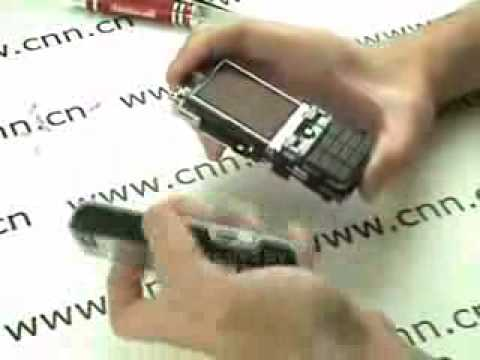 Sony Ericsson K800i K810i Disassembly Video