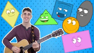 Shapes Song | Adam Tree TV