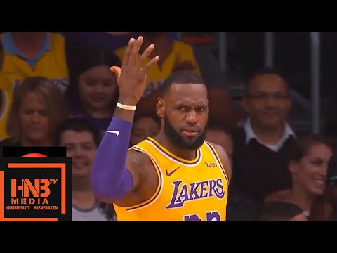 Los Angeles Lakers vs Indiana Pacers 1st Qtr Highlights | 11.29.2018, NBA Season