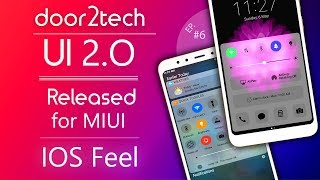 door2tech UI 2.O MIUI theme almost IOS || MIUI 9 themes 😋 Best theme for MIUI 9