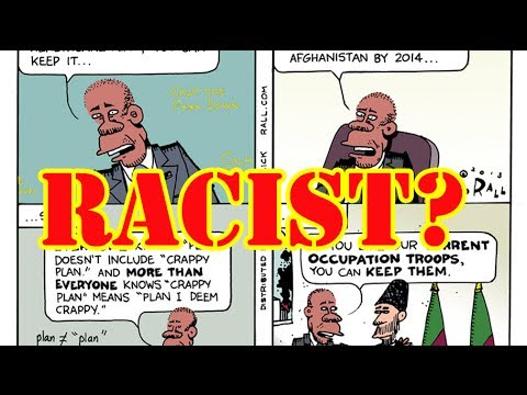Ted Rall accused of posting racist Obama cartoon